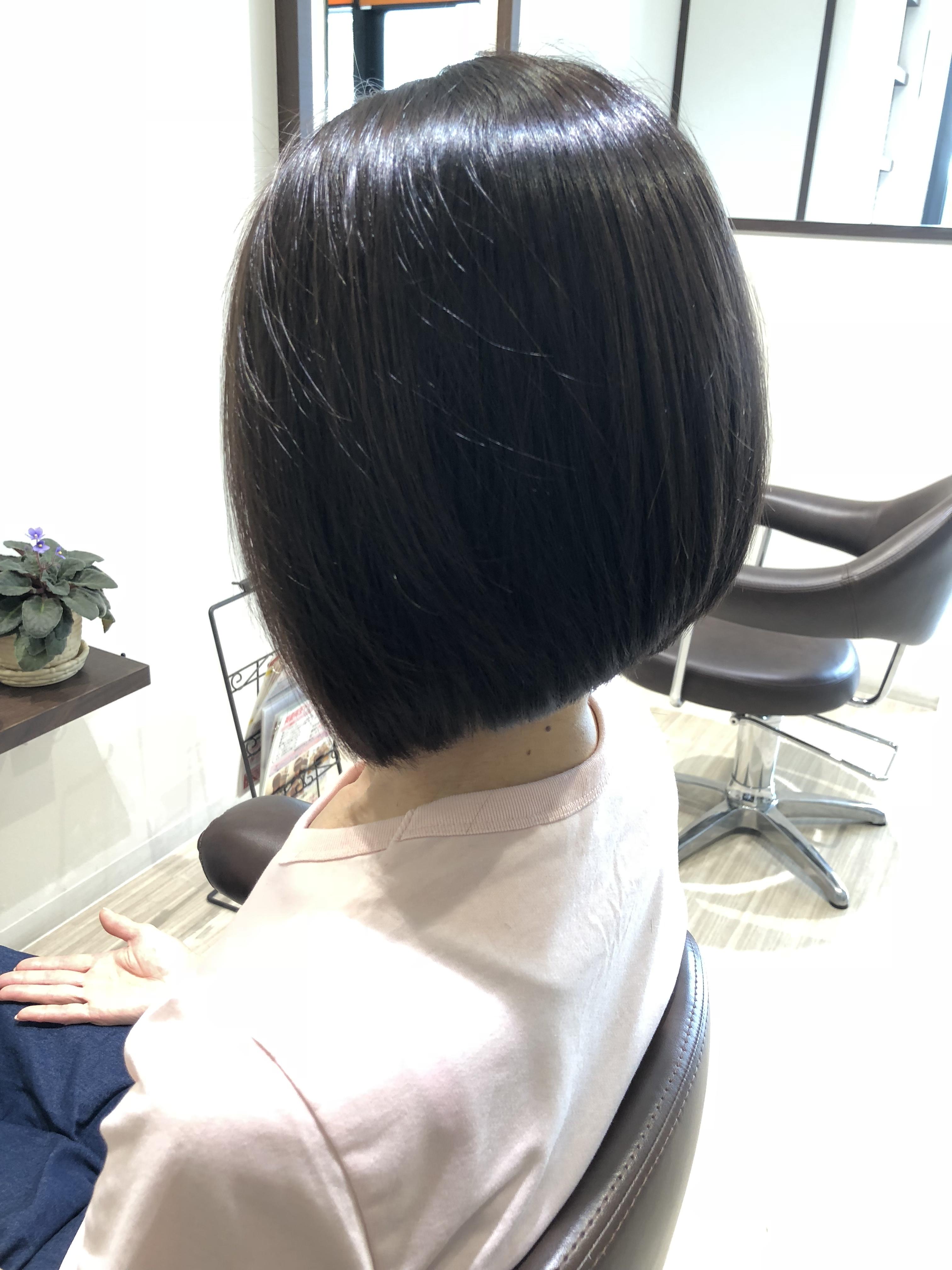 直毛も まっすぐなくせ毛と考える